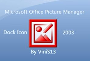 Microsoft Picture Manager Dock by Vinis13