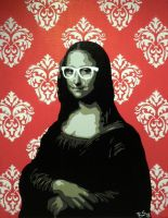 Mona Lisa, The Mysterious by TwinSisArt