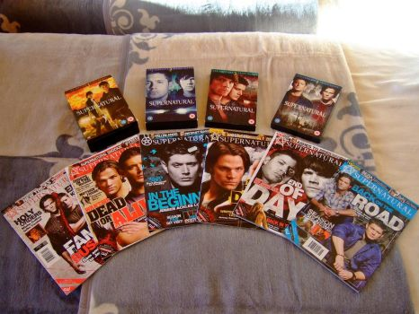 My Supernatural collection 2. by almostdefinitely