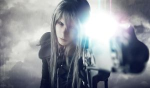 Yazoo - Final Fantasy VII - Advent Children by NarcissPuppet