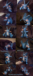 Swampert papercraft by Weirda208