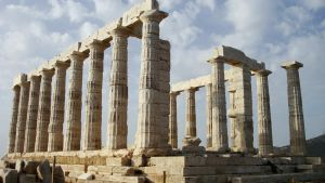 Temple of Poseidon at Sounion by Wilma1989