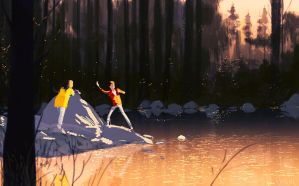Skips and stones. by PascalCampion