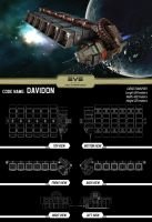 Eve Online Contest ship II by Kreattivo