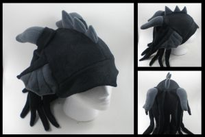 Custom Dragon fleece hat by eitanya