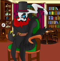 Fancy Darkrai by LukeTheeMewtwo