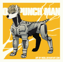 ONE PUNCH DOG Genos by Insol