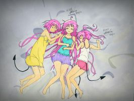 To Love Ru Sisters by BetaSix