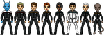 Crew of the USS Enterprise-F by cptmeatman