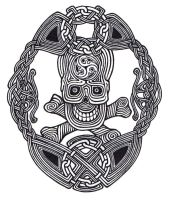 Celtic Skull Knot by ppunker