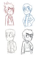 .:First Ninjago Sketches:. by PPGxRRB-FAN
