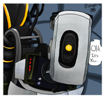GlaDOS by coloured-prisms