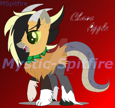 Chaos Apple by Mystic-Spitfire