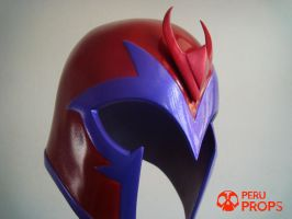 Magneto red helmet _01 by raultumba