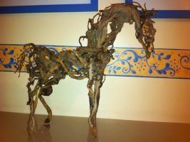 Wooden horse by emaghrabi
