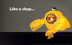 Yellow Devil: Like a chap by UnexpectedToy