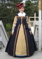 Elizabethan Child's Dress by ladyrose04