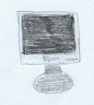 Qualia OfficePro DSB179-A LCD Monitor by TheSuperArtWorks