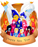Happy new Year!! by Pandi-Mar