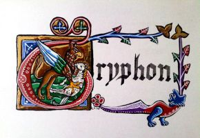Gryphon Illumination by hollyann
