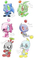 Chao adventure chao x3 by Crazy-Daydreamer