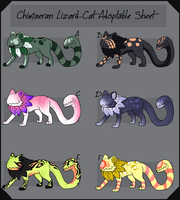 CLC Adopt Batch 29 by TheseWeirdFishes