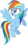 Rainbow Dash is fascinated by KyssS90