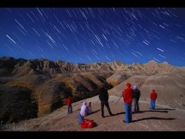 Star Trails and Selves by FramedByNature