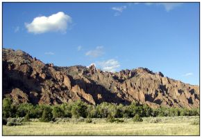 Crags by Xwinger