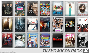 TV Show Icon Pack 40 by FirstLine1