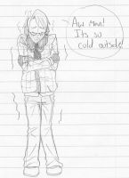 S-So Cold - APH by Teddie-Chan