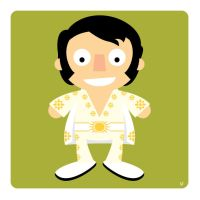 elvis by striffle