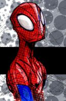 Colored Spidey Sketch by WarBrown