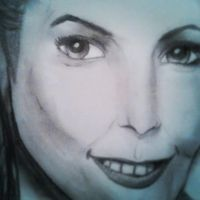 drawing of a woman by Sonnenelfe