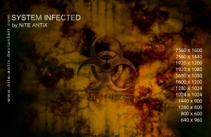 System Infected Wallpapers by NiTE-ANTiX