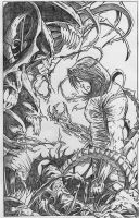 darkness pencils by toddrayner