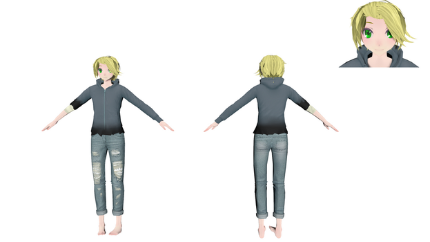 Alex (New OC) by MMD1lover1