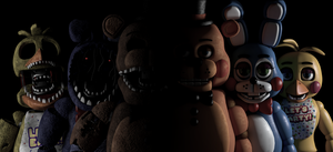 Five Nights at Freddy's 2 by GaboCOart