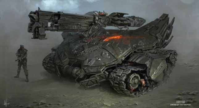Nod Scorpion Tank Final RENDER by MichalKus