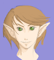 Another elf guy by Skuldier