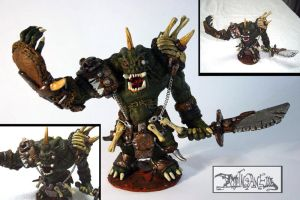 Demonic Orc by polawat