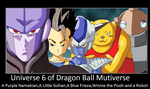 Universe 6 of Dragon Ball Mutiverse by KeybladeMagicDan