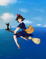 Kiki's Delivery Service by Roeveart