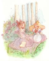 Alice and sister by SilviaVanni