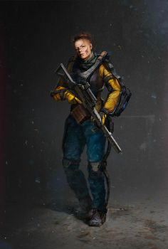 Soldier concept by shpacia