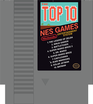 Top Ten NES Games by waymanate