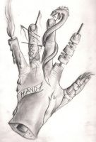 My Hand by Lucky978