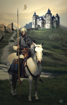 Medieval Knight by H4Q4