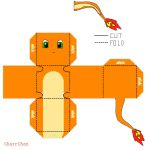 Charmander Papercraft by CharrChan