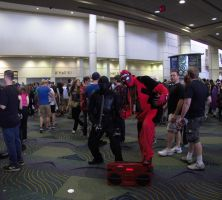 Megacon 2015: Snake Eyes and Deadpool by CarlShepard